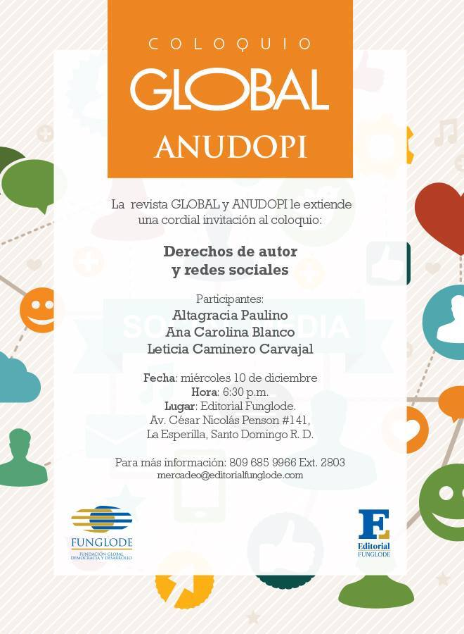 Coloquio GLOBAL y ANUDOPI dic 2014